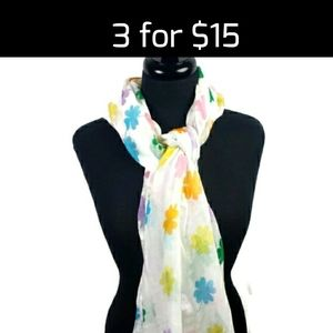 3 for $15 Sale!Shamrock Patterned Fashion Scarf